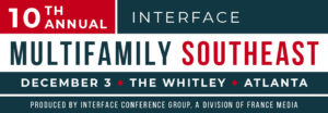 2019 InterFace Multifamily Southeast - Atlanta