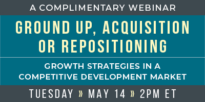 Seniors Housing Development Webinar - 2019 Growth strategies