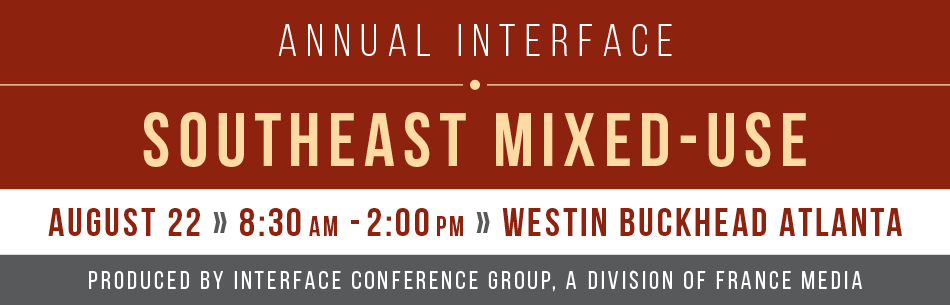2019 InterFace Southeast Mixed-Use - Atlanta