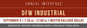 2019 InterFace DFW Industrial - Dallas