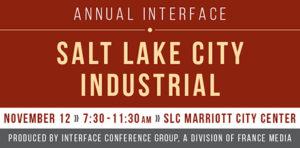 Salt Lake City Industrial conference - 2019