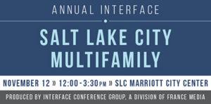 Salt Lake City Multifamily conference 2019